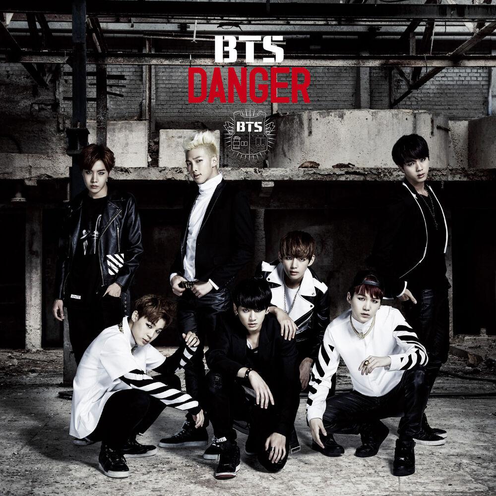 японский кпоп альбом BTS Danger