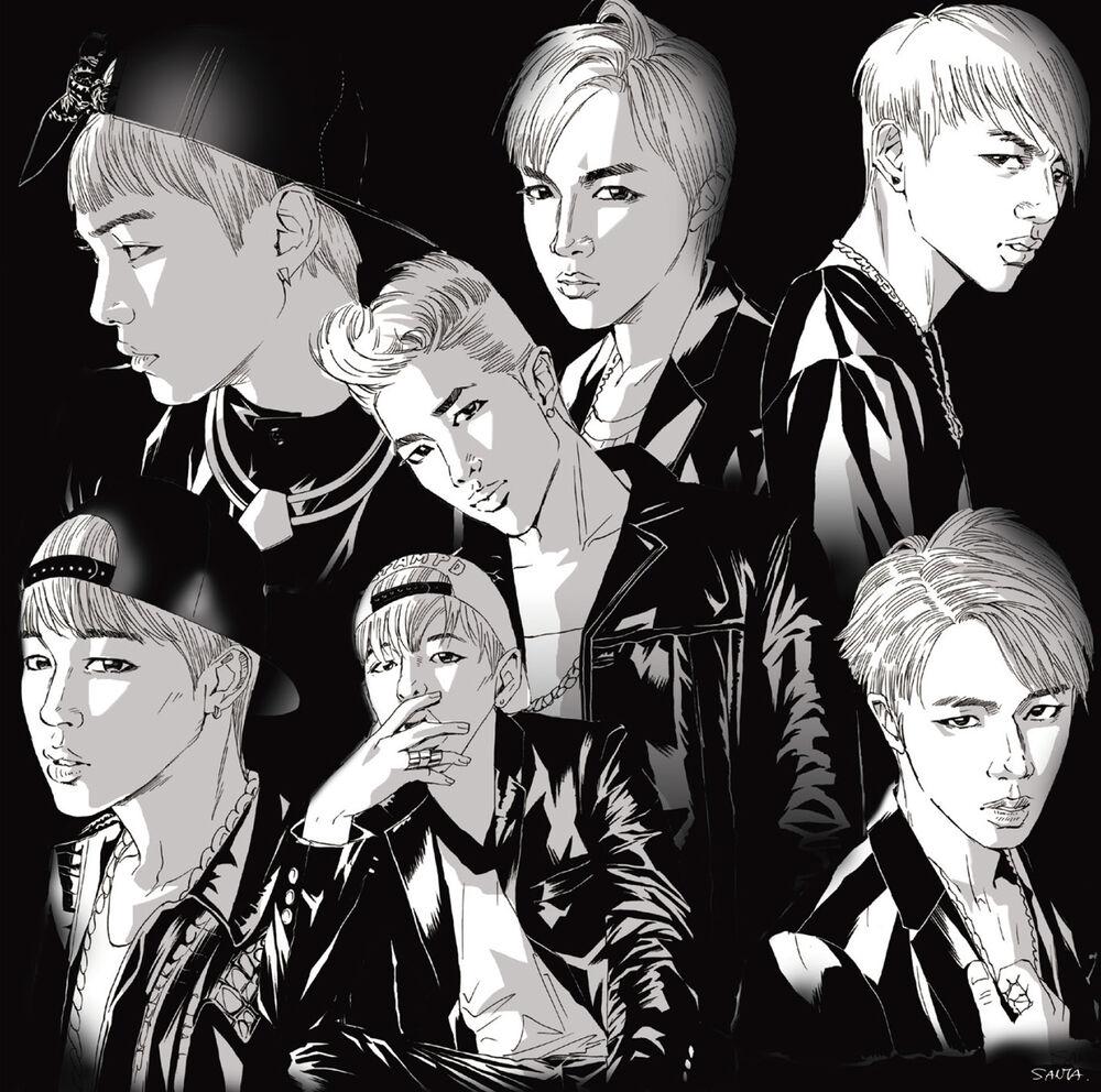 японский альбом BTS Danger limited edition a