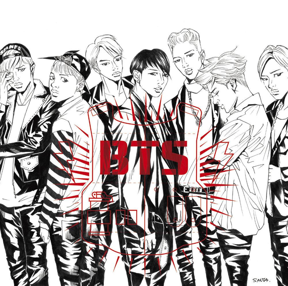 японский кпоп альбом BTS Danger Limited edition B япония