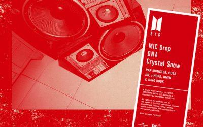 Японский альбом BTS – MIC Drop / DNA / Crystal Snow