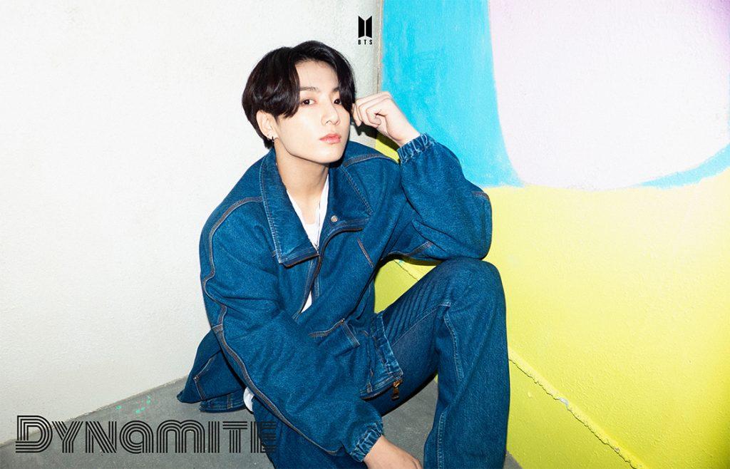 BTS DYNAMITE kpop photo jungkook