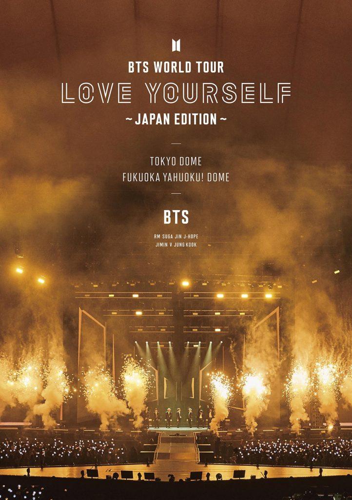 японский альбом BTS World Tour Love Yourself Japan Edition Версия Regular edition Blu-ray фото кпоп