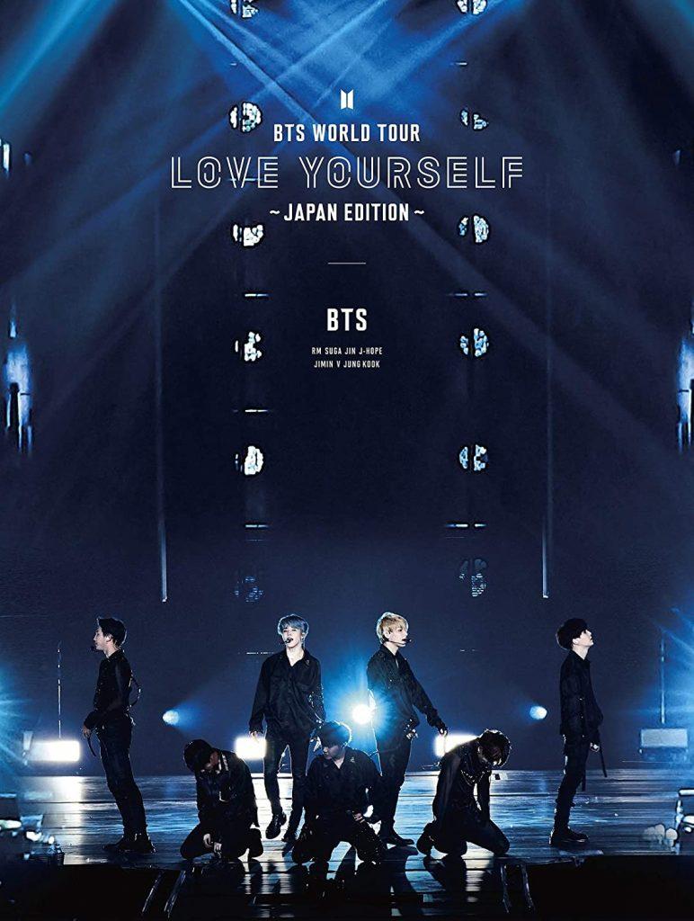 японский кпоп альбом BTS WORLD TOUR LOVE YOURSELF JAPAN EDITION Версия Limited Blu-ray edition