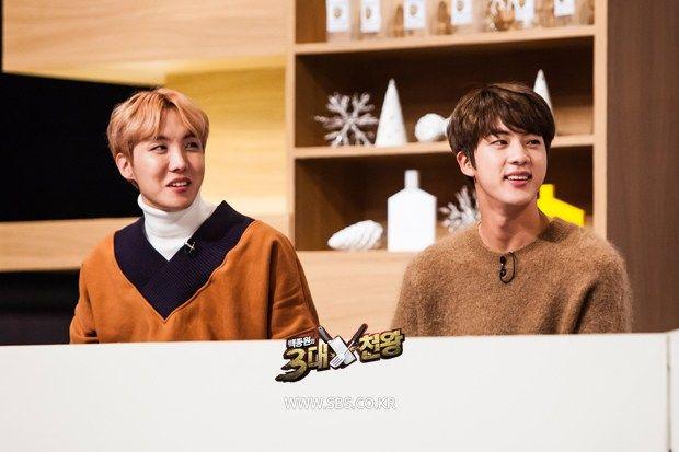 photo Top 3 Chef King jin jhope bts korea