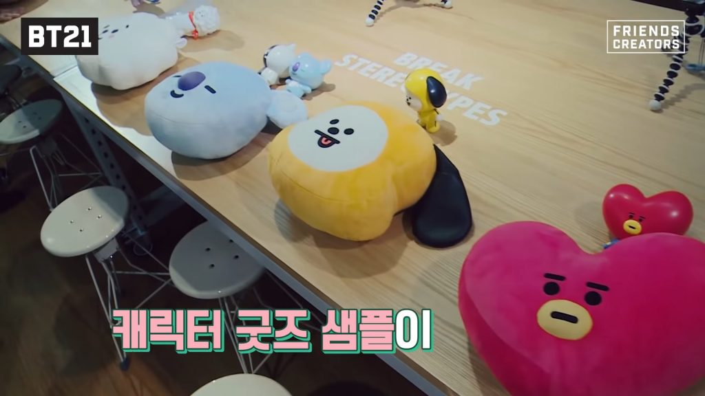 Toys and pillows BT21 bts