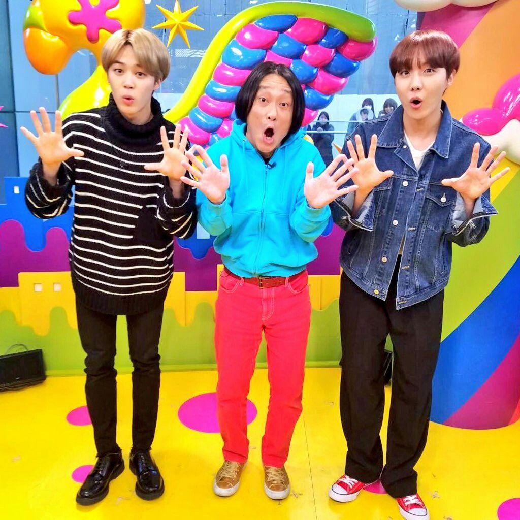 photo japanese show PON! bts jimin jhope japan korea