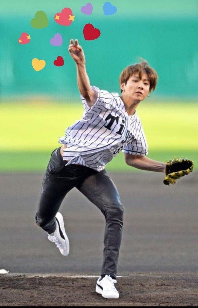 BTS Jungkook handball sport kpop
