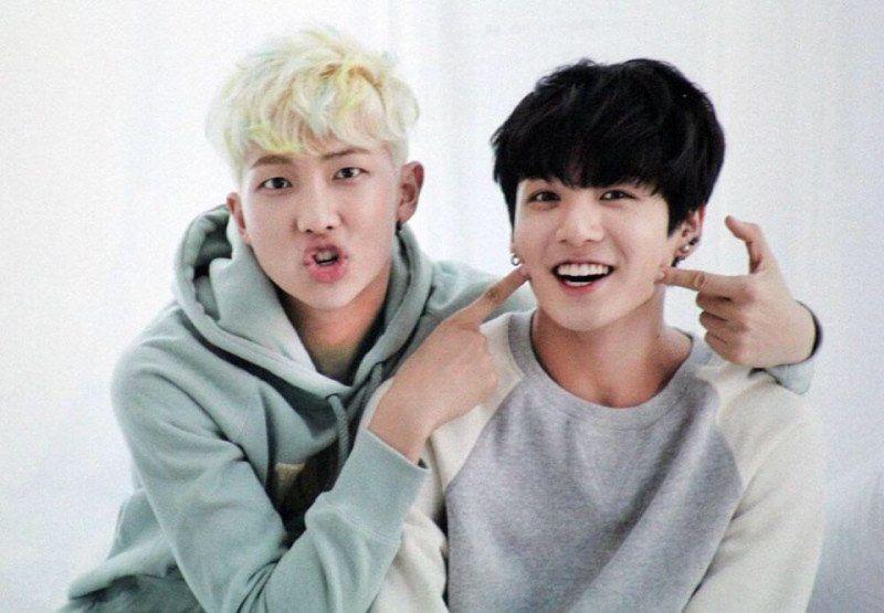Rap Monster jungkook bts kpop friends