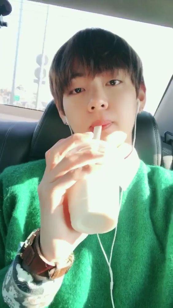 Taehyung bts drink kpop