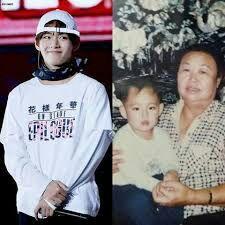 Taehyung grandmother bts kpop