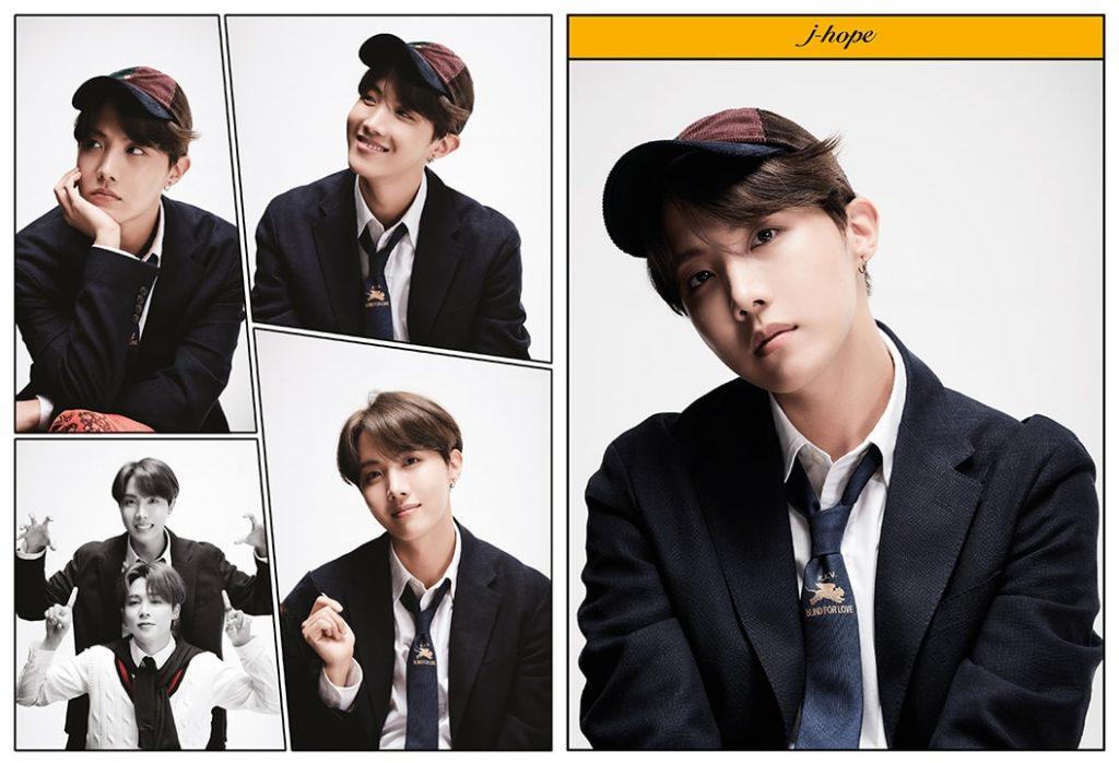 kpop photo album BTS Map of the Soul 7 Version 4 J-Hope, Jimin