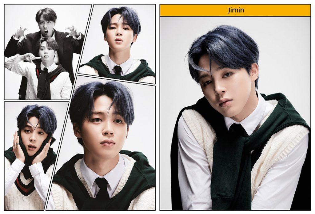 kpop photo album BTS Map of the Soul 7 Version 4 Jimin, J-Hope