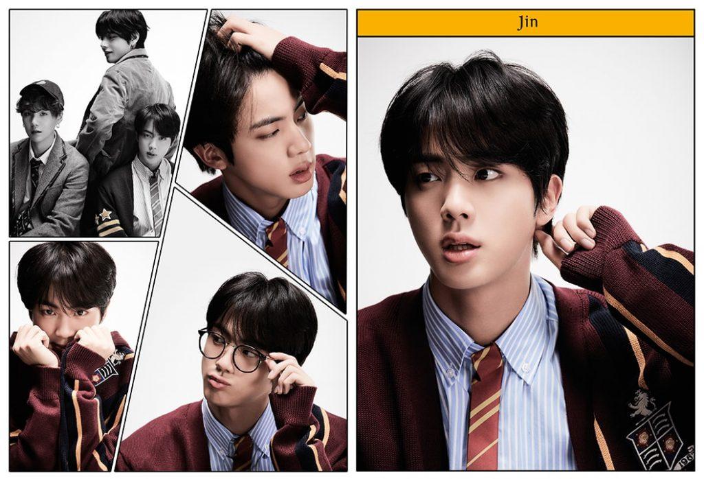 kpop photo album BTS Map of the Soul 7 Version 4 Jin, V, Suga