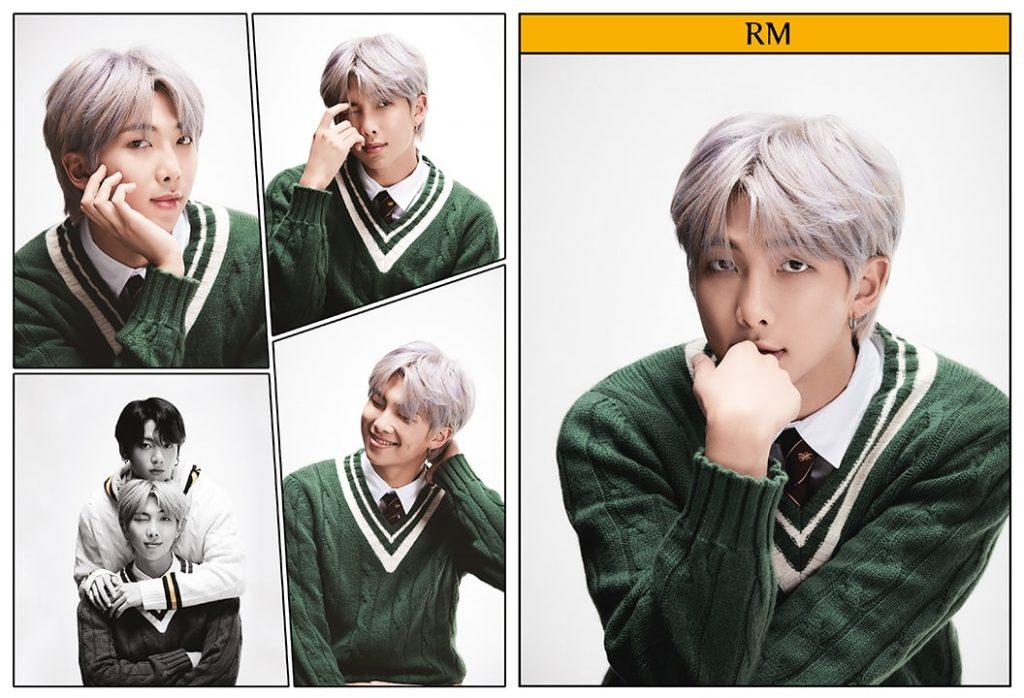 kpop photo album BTS Map of the Soul 7 Version 4 Rap Monster, Jungkook