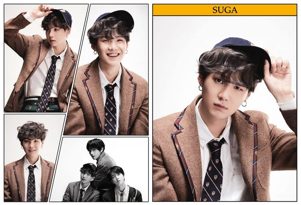 kpop photo album BTS Map of the Soul 7 Version 4 Suga, V, Jin