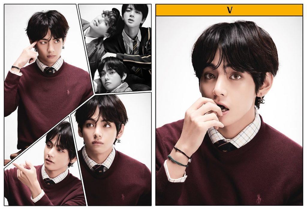 kpop photo album BTS Map of the Soul 7 Version 4 V, Suga, Jin