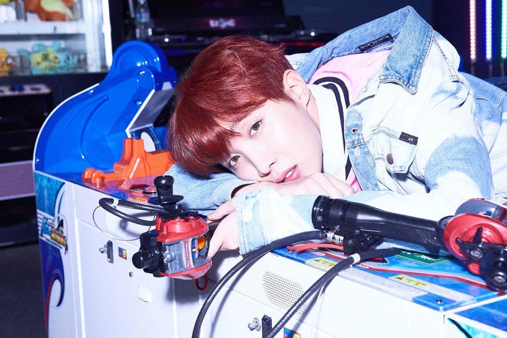 photo kpop album BTS Love Yourself 承 Her version E J-Hope