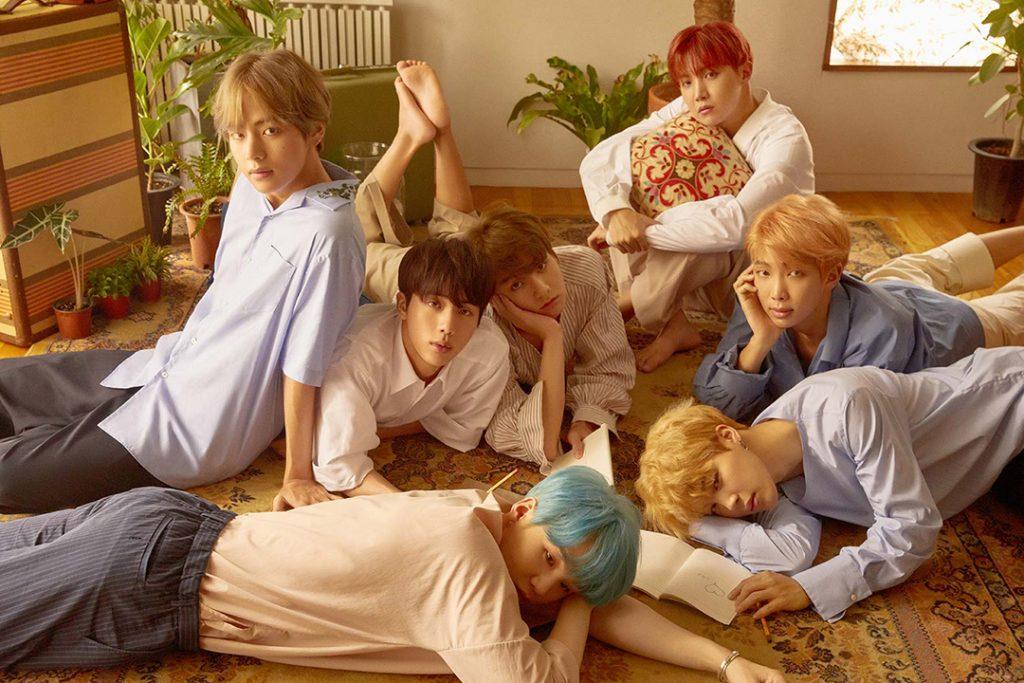 photo kpop album BTS Love Yourself 承 Her version L