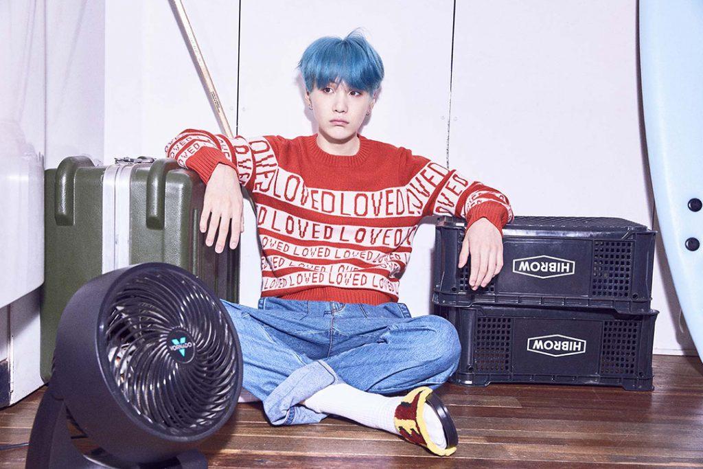 photo kpop album BTS Love Yourself 承 Her version V Suga