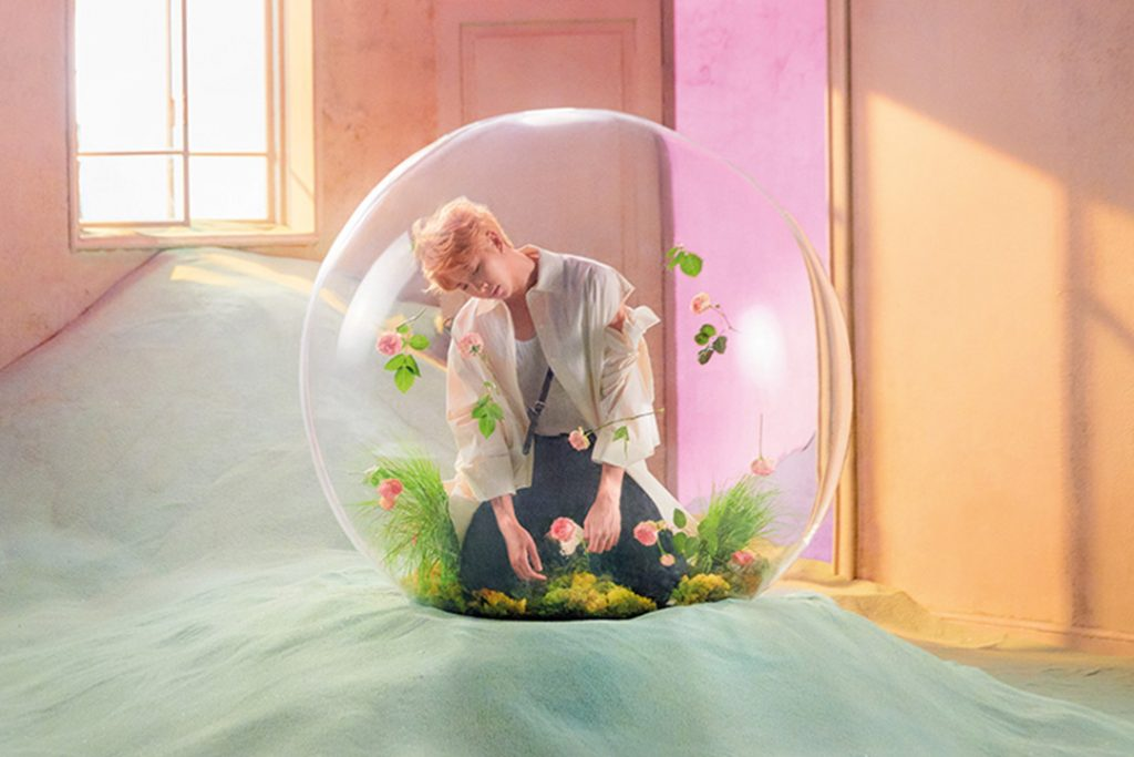 photo kpop album BTS Love Yourself 結 Answer Version E RM