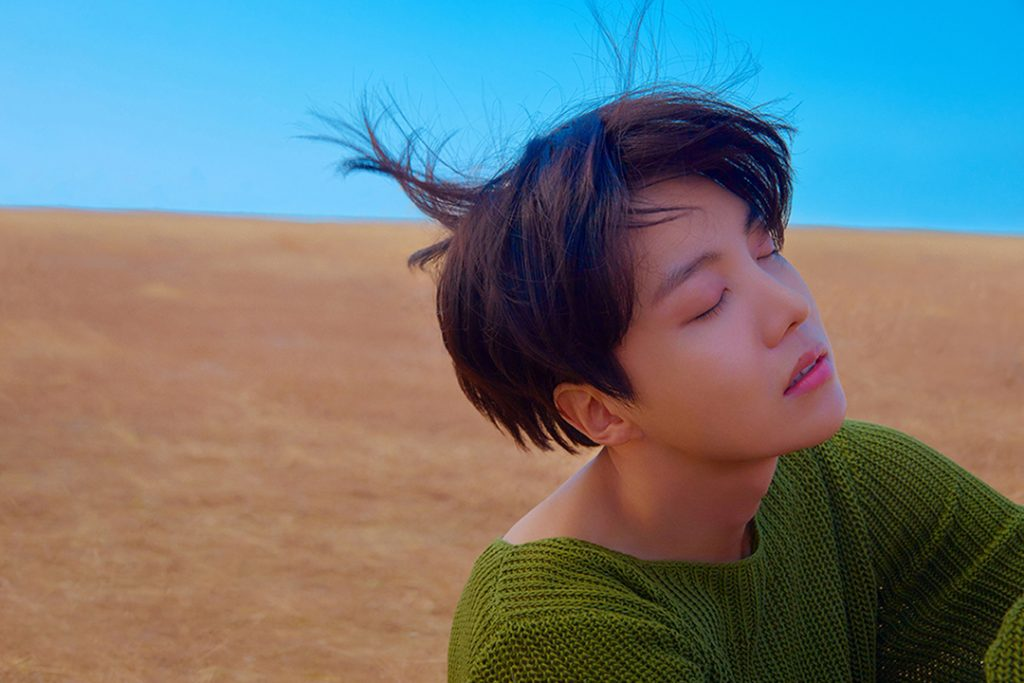 photo kpop album BTS Love Yourself 轉 Tear Version Y J-Hope