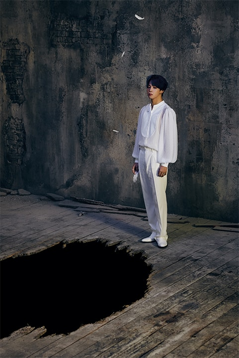 photo kpop album BTS Map of the Soul 7 Version 1 Jimin