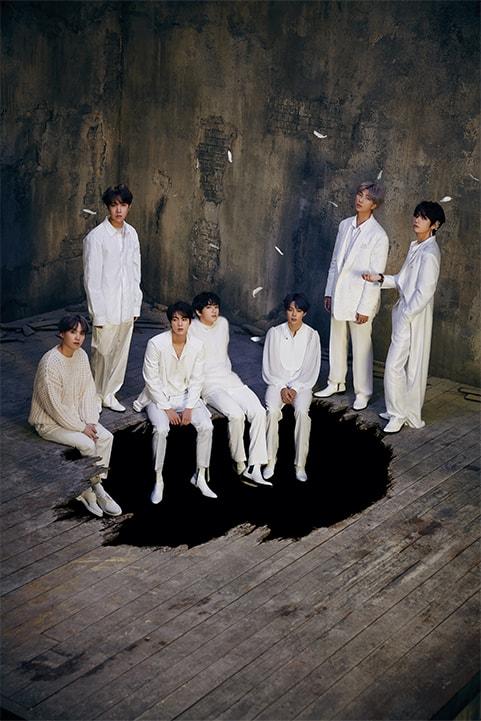 photo kpop album BTS Map of the Soul 7 Version 1