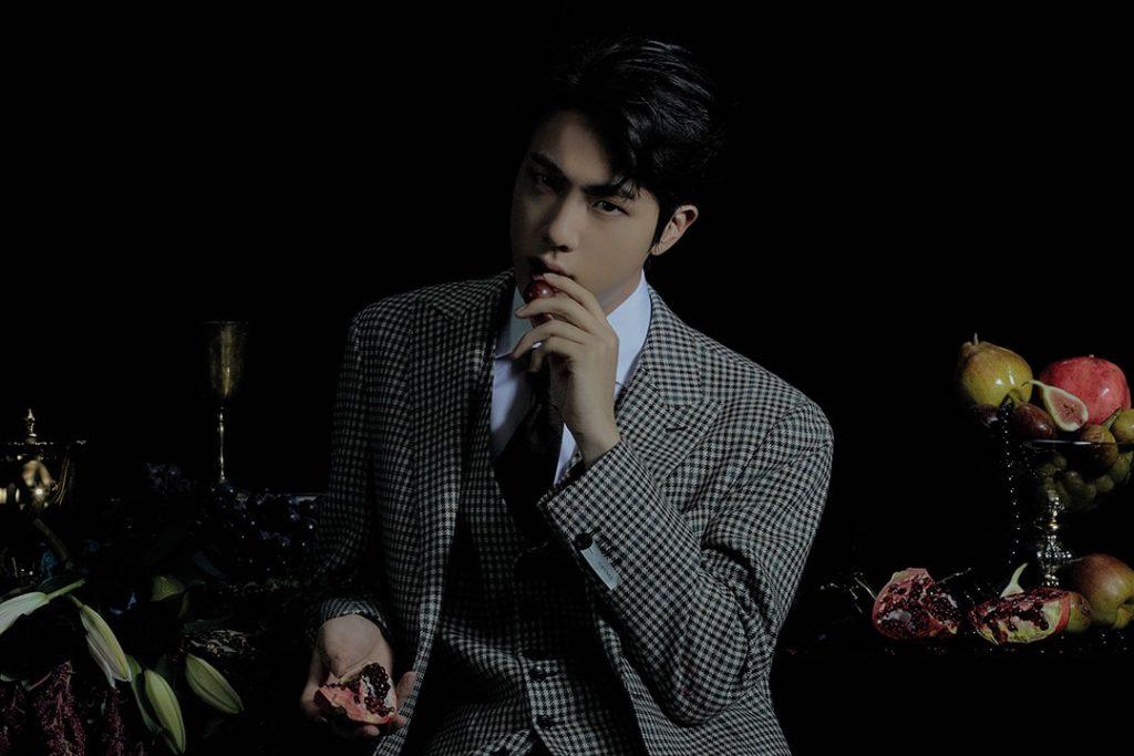 photo kpop album BTS Map of the Soul 7 Version 3 Jin
