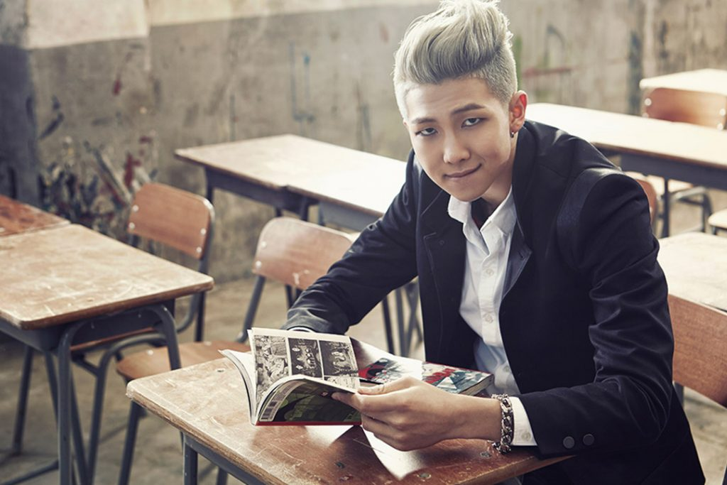 photo kpop album BTS Skool Luv Affair RM Namjoon