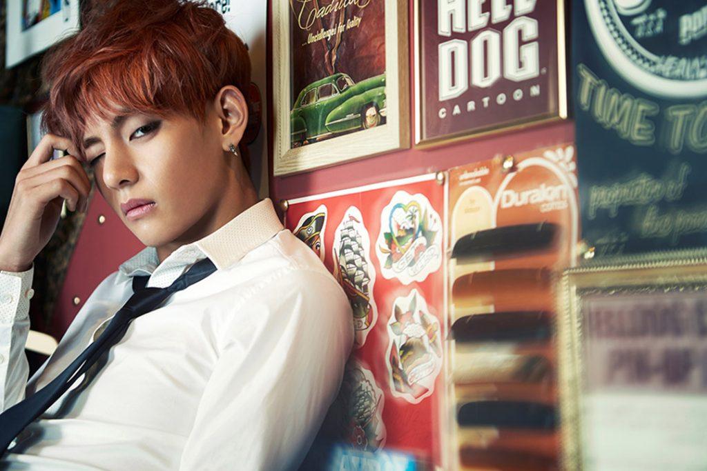 photo kpop album BTS Skool Luv Affair V