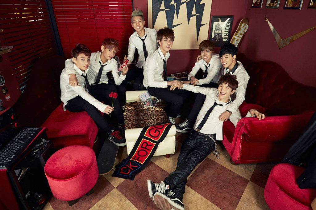 photo kpop album BTS Skool Luv Affair korea