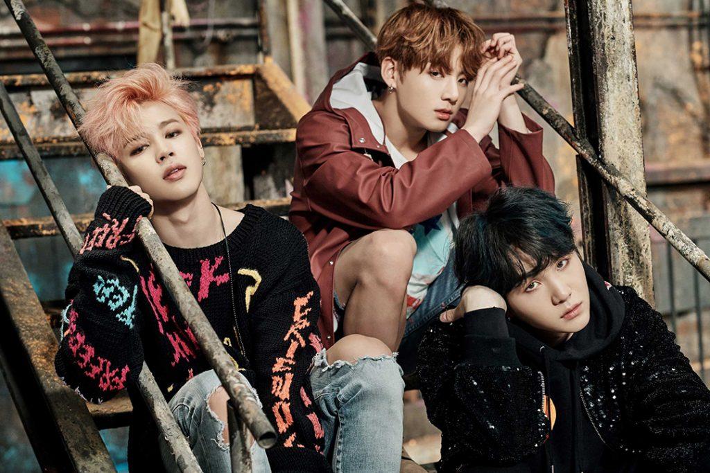 photo kpop album BTS You Never Walk Alone Jimin, Jungkook, Suga