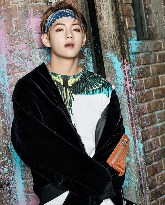 photo kpop album BTS You Never Walk Alone V Kim Taehyung