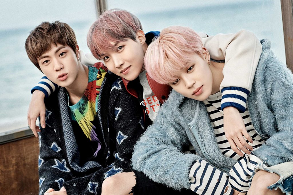 photo kpop album BTS You Never Walk Alone korea Jin, J-Hope, Jimin