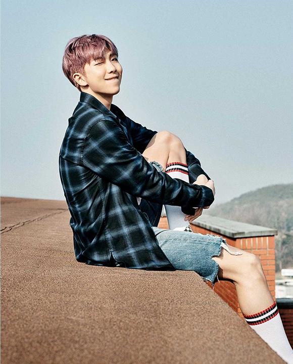 photo kpop album BTS You Never Walk Alone korea RM