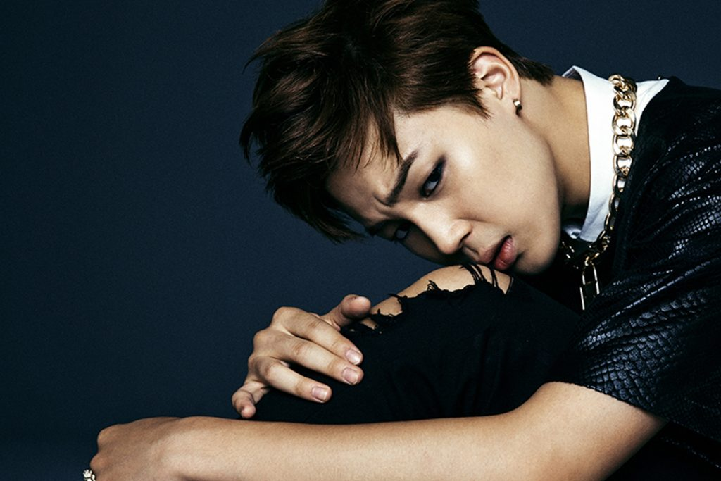 photo kpop album bts Park Jimin dark wild