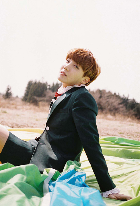 photo kpop album bts The Most Beautiful Moment in Life Young Forever version day jhope