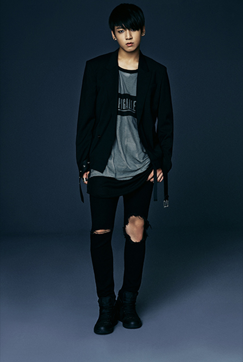 photo kpop album bts dark wild Jungkook
