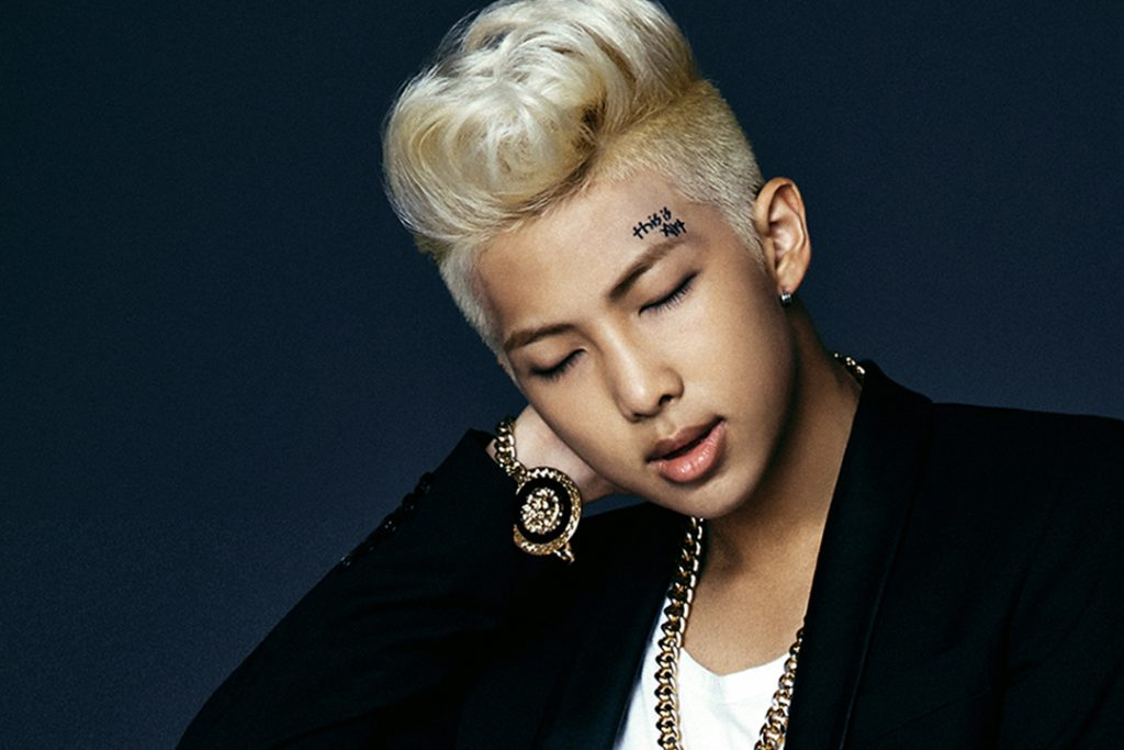 photo kpop album bts dark wild Namjoon