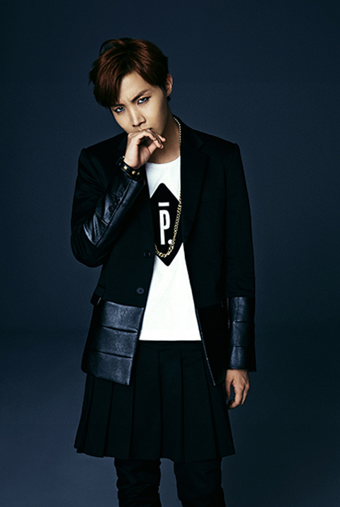 photo kpop album bts dark wild jhope
