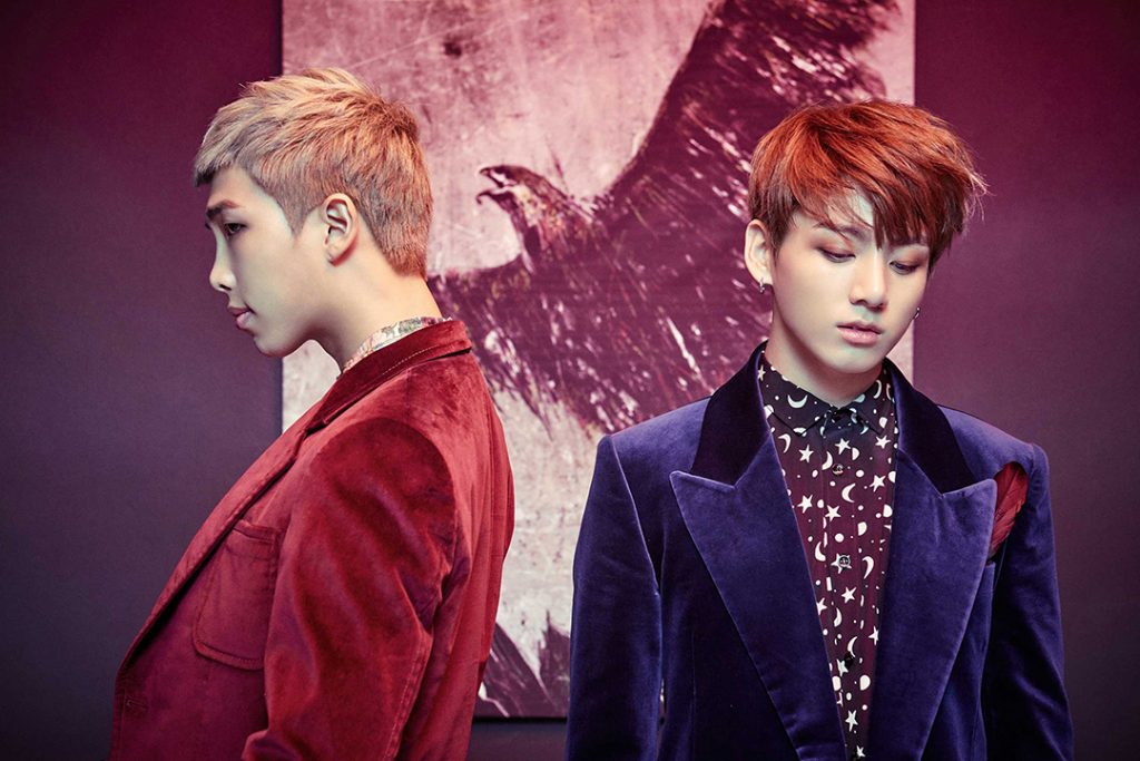photo kpop album bts wings rm jungkook