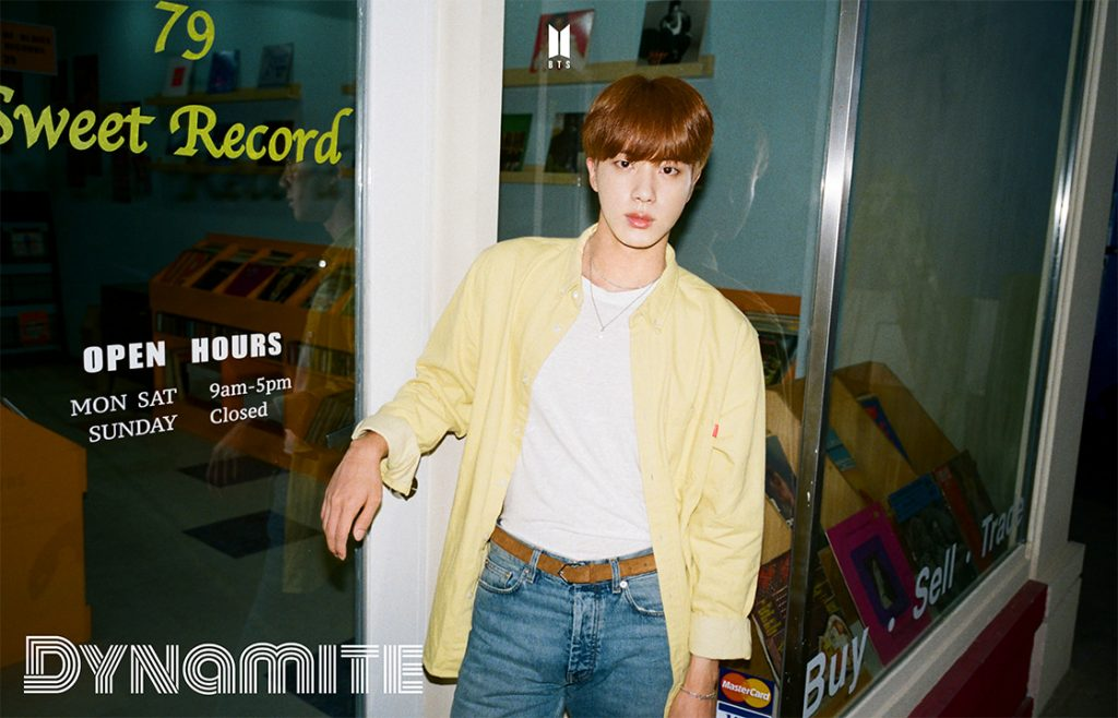photos BTS DYNAMITE Jin