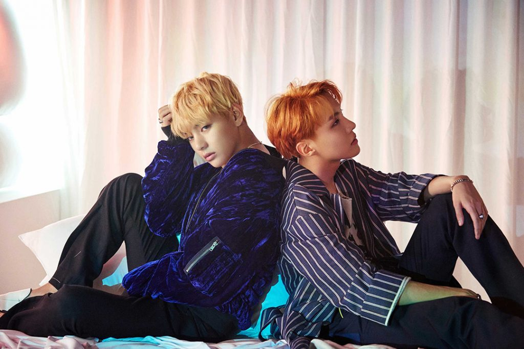 photos kpop album bts wings jhope v