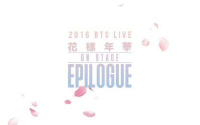 2016 BTS LIVE FLOWER ON STAGE: EPILOGUE CONCERT