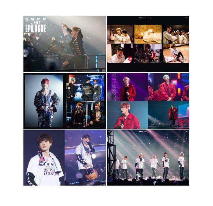2016 BTS LIVE FLOWER ON STAGE EPILOGUE CONCERT photos photobook kpop album korea
