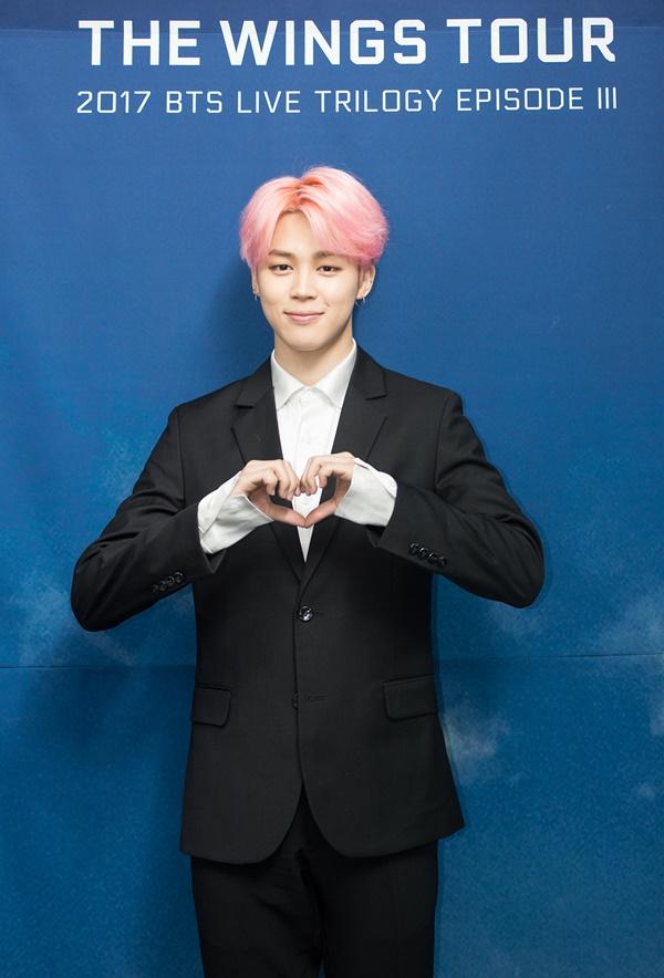 2017 BTS LIVE TRILOGY EPISODE III THE WINGS TOUR IN SEOUL CONCERT kpop album photo Jimin