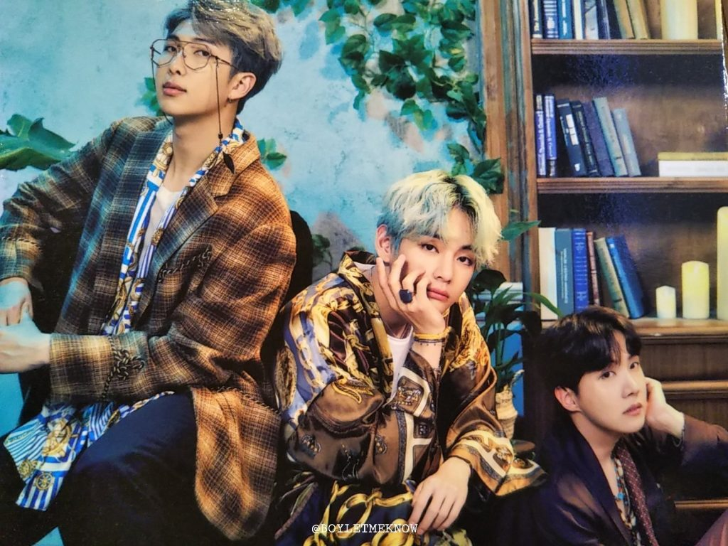 2019 BTS 5TH MUSTER MAGIC SHOP kpop album photo Namjoon, Taehyung, Hoseok