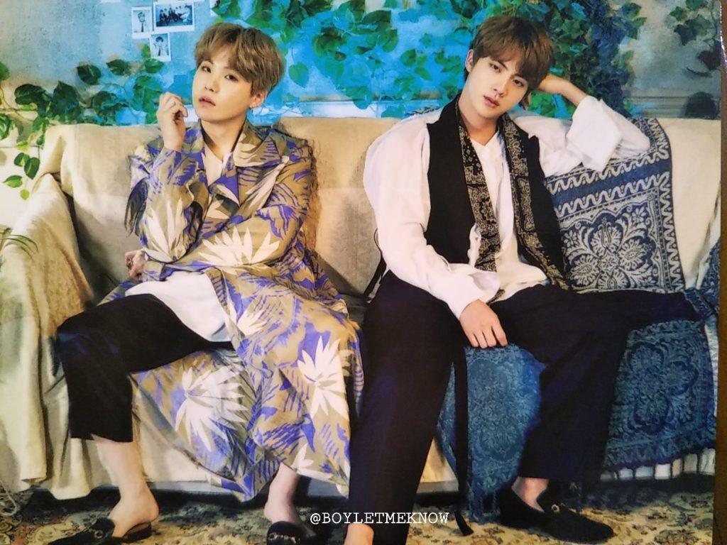 2019 BTS 5TH MUSTER MAGIC SHOP kpop album photo Suga, Jin