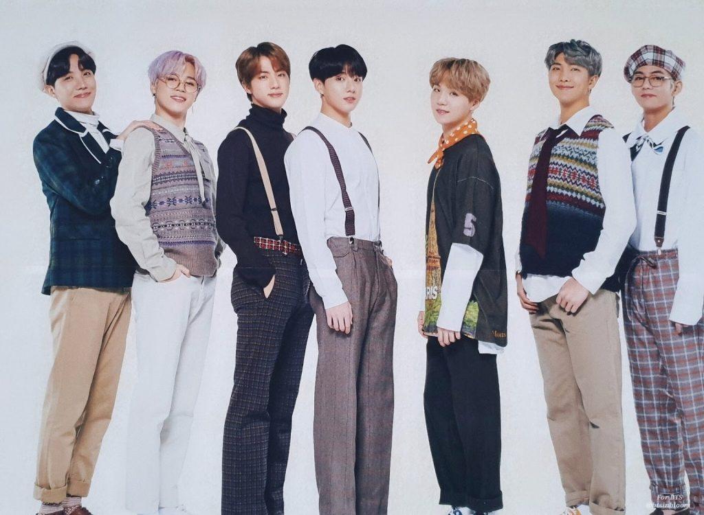 2019 BTS 5TH MUSTER MAGIC SHOP kpop album photos
