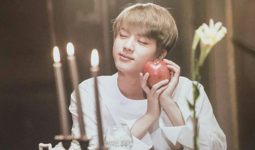 BTS MEMORIES OF 2016 kpop album photo Jin